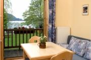 Ferienwohnung am Schliersee mit Seeblick Sitzen