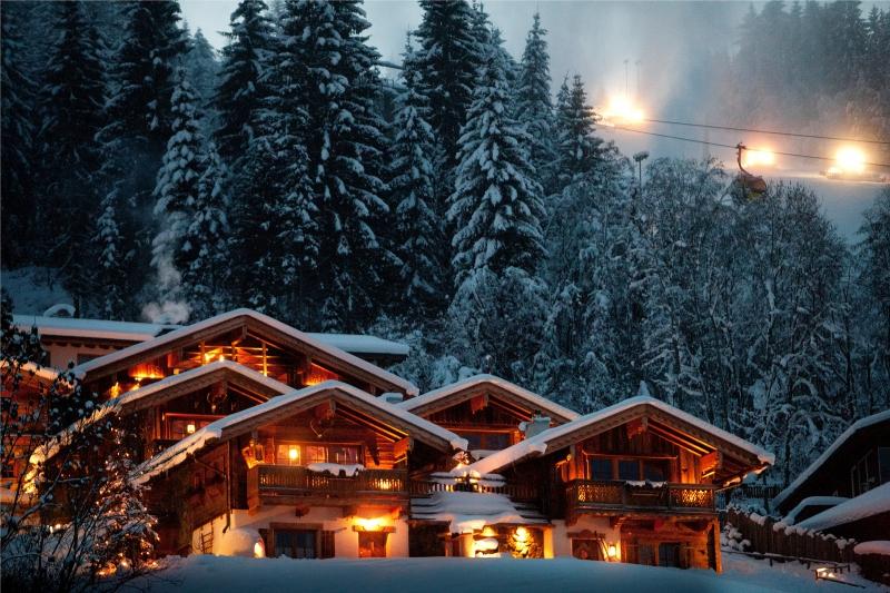 Chalet an der Piste Salzburger Land Winter
