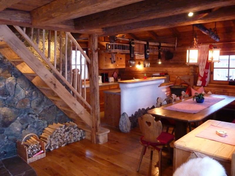 Chalet an der Piste Salzburger Land Wohnraum 12 Personen
