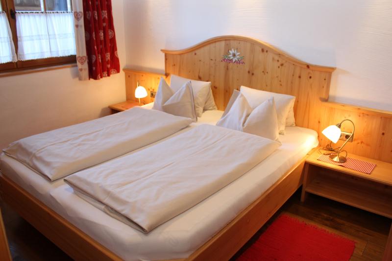 Chalet an der Piste Salzburger Land Schlafzimmer