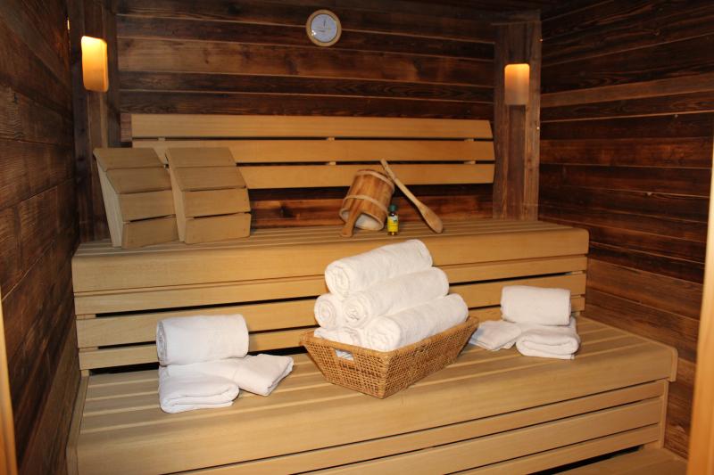 Chalet an der Piste Salzburger Land Sauna