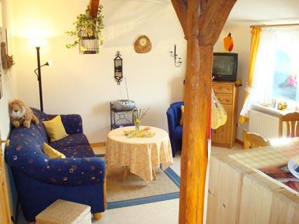 ferienhof-landfrieden-vollerwiek-ferienwohnung-blanker-hans-Wohnzimmer