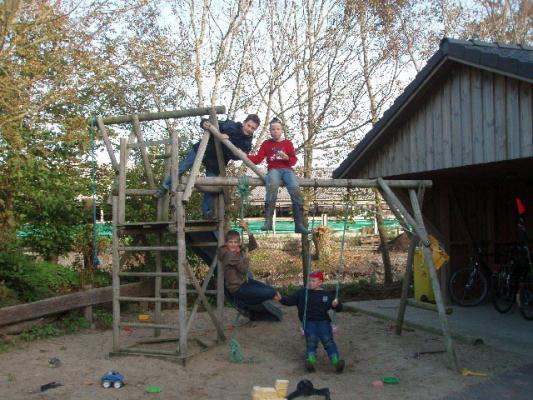 familienurlaub-bauernhof-Kletterpark