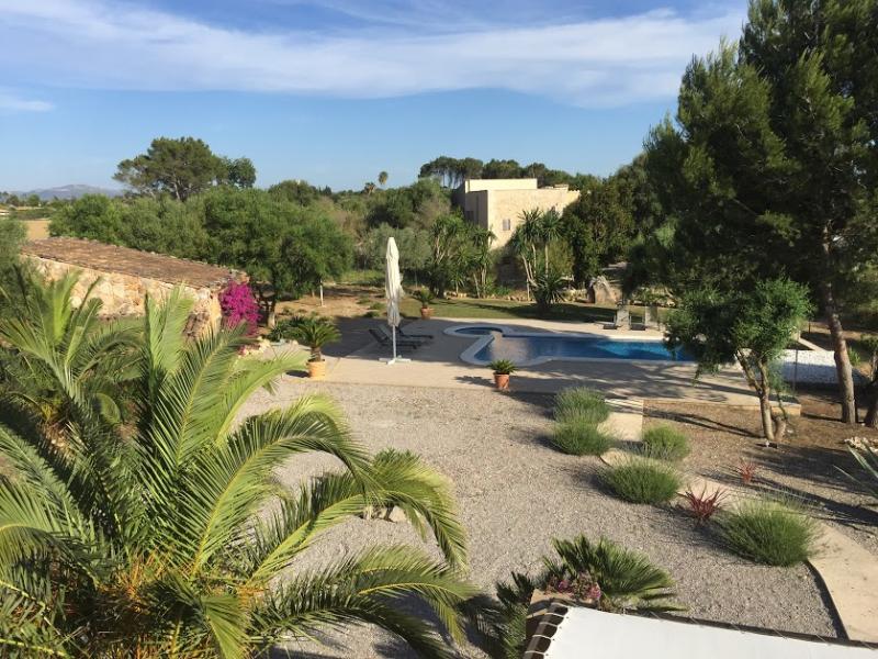 Romantische Naturstein Finca auf Mallorca Haus Ferne