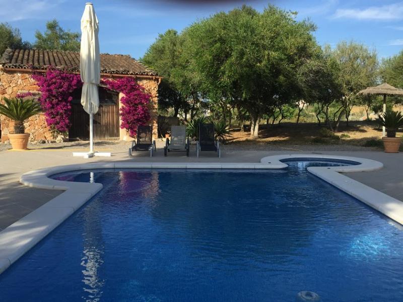 Romantische Naturstein Finca auf Mallorca