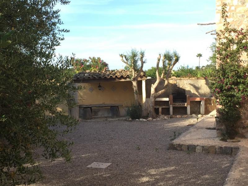 Romantische Naturstein Finca auf Mallorca Hausbereich