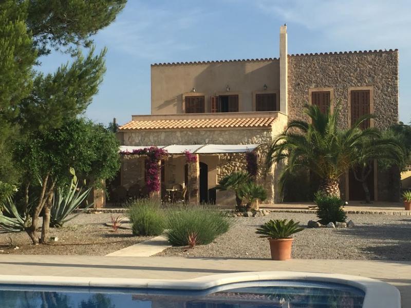 Romantische Naturstein Finca auf Mallorca Haus mit Terrasse