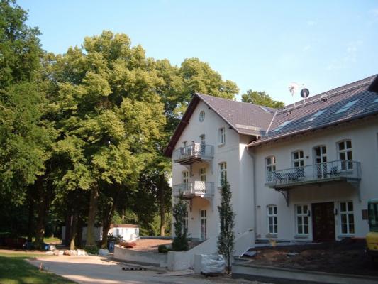 Schloss Appartement an der Ostsee Hausansicht