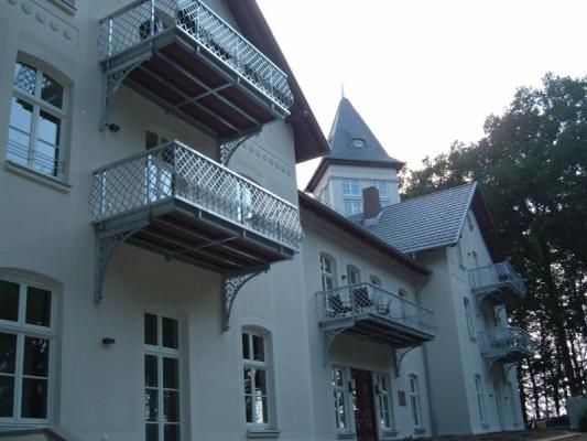 Schloss Appartement an der Ostsee Haus nah
