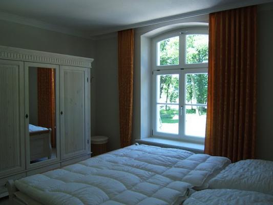 Schloss Appartement an der Ostsee Bett