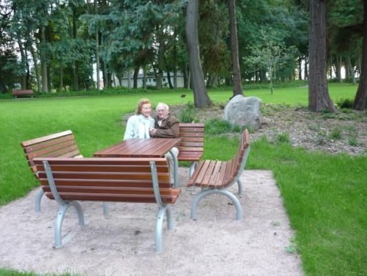 Schloss Appartement an der Ostsee Terrasse
