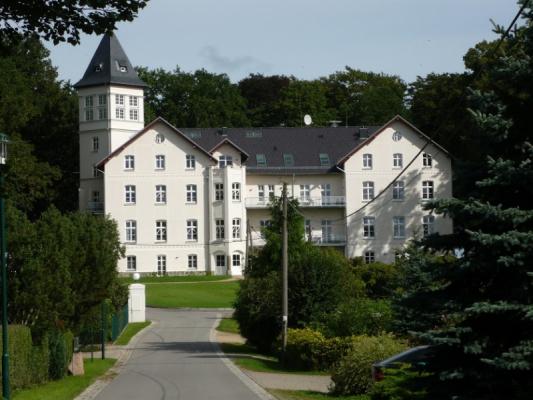 Schloss Appartement an der Ostsee Haus Weitansicht