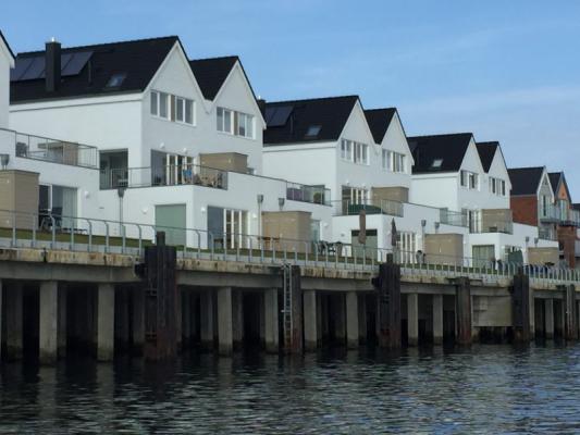 Olpenitz Maisonette Ferienwohnung Häuseransicht