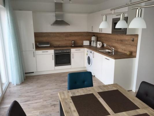 Olpenitz Maisonette Ferienwohnung Küche