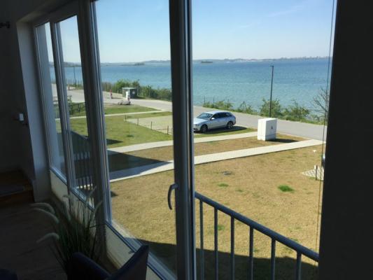 Olpenitz Maisonette Ferienwohnung Fenster Strand