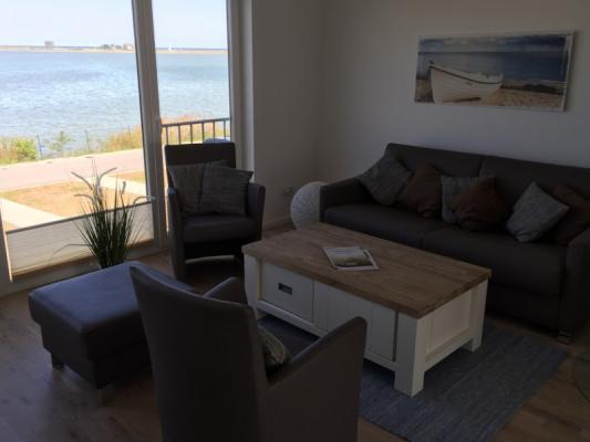 Olpenitz Maisonette Ferienwohnung Sitzbereich
