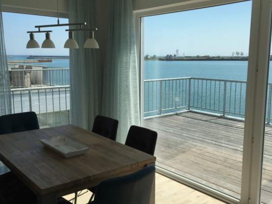 Olpenitz Maisonette Ferienwohnung Essen am Meer