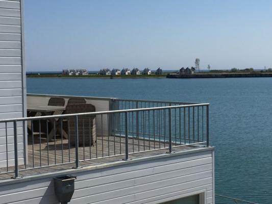 Olpenitz Maisonette Ferienwohnung Terrasse am Meer