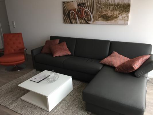 Olpenitz Ferienhaus Couch