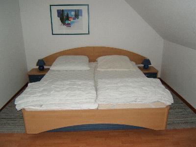 Ferienwohnung in Kühlungsborn Bett