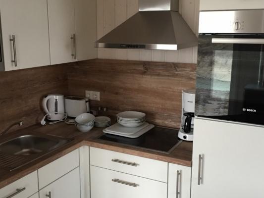Ferienhaus Olpenitz mit 2 Zimmern Küche