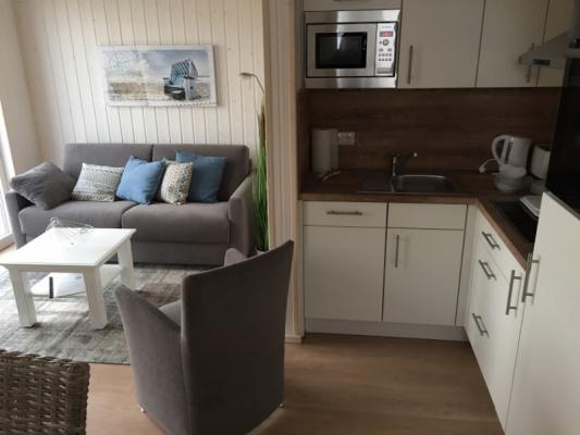 Ferienhaus Olpenitz mit 2 Zimmern Küchenecke