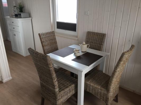 Ferienhaus Olpenitz mit 2 Zimmern Frühstücken