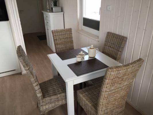 Ferienhaus Olpenitz mit 2 Zimmern Abendessen