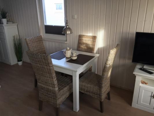 Ferienhaus Olpenitz mit 2 Zimmern Essecke