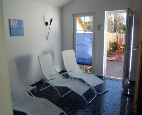 Ferienwohnung in Zingst sauna_ruhe