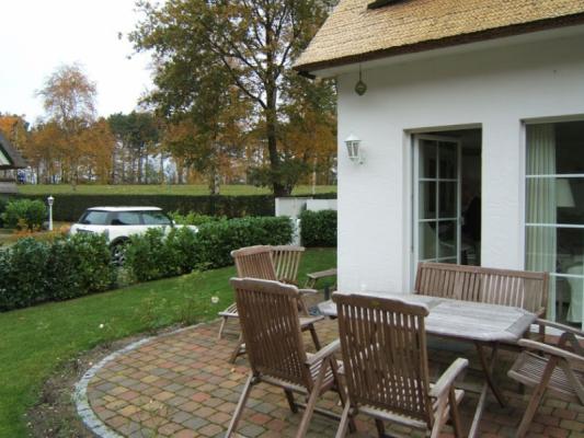 Ferienwohnung in Zingst terrasse