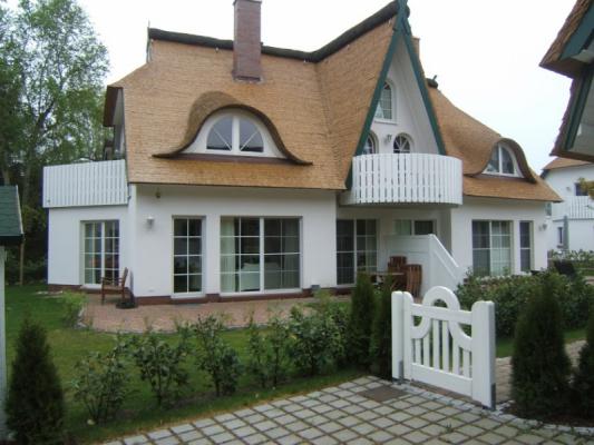Ferienwohnung in Zingst Haus Zufahrt