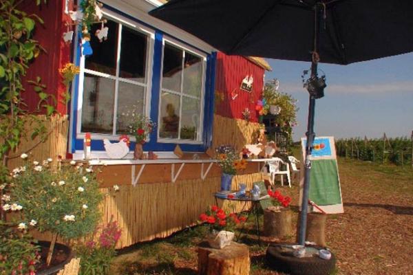 familienurlaub-bauernhof-Cafe